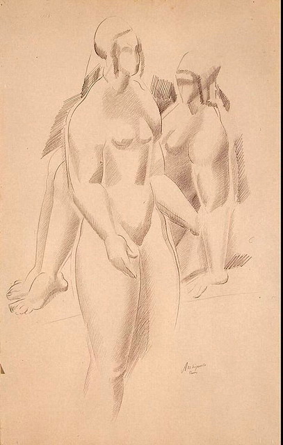 1920-е Two-Nude-Female-Figures (407x640, 85Kb)