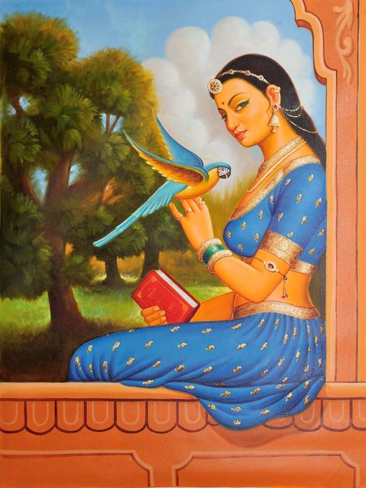 Anup Gomay - Indian artist - Catherine La Rose  (36) (525x700, 458Kb)