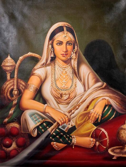Anup Gomay - Indian artist - Catherine La Rose  (24) (530x700, 416Kb)