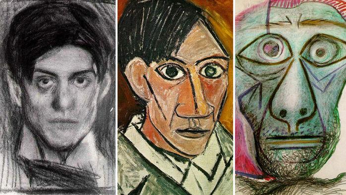 Картинки по запросу пабло пикассо автопортрет