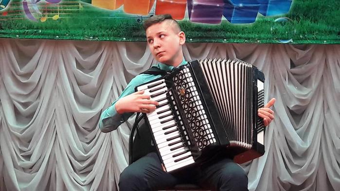 Конкурсное выступление Максима Гаркушова
