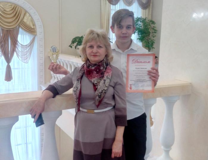 Л.Н. Лебедева и Станислав Когут