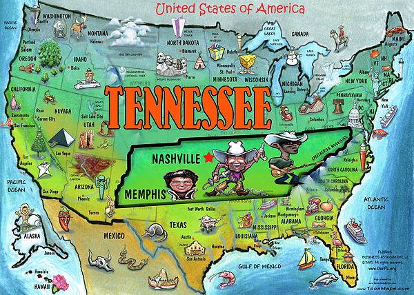 tennessee-usa-cartoon-map-kevin-middleton (600x428, 598Kb)