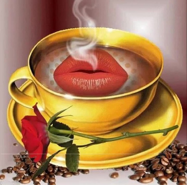 Картинки парню доброе утро с поцелуем, ромашки