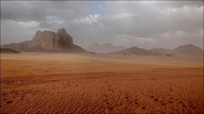 Цветные пески Вади Рам