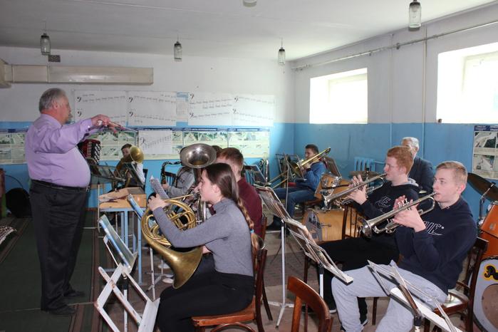 Открытый урок преподавателя И.Я. Борусовского (отделение духовых и ударных инструментов)