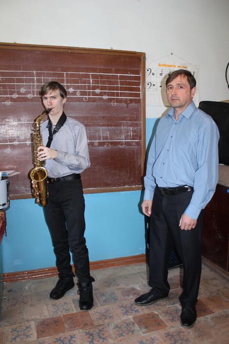 Открытый урок преподавателя Ю.Н. Вернигоры (отделение духовых и ударных инструментов)