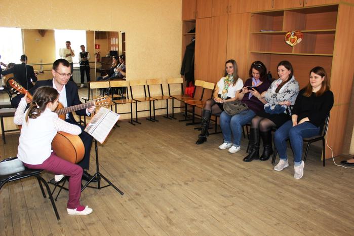 Открытый урок преподавателя Д.О. Крамского (гитара)