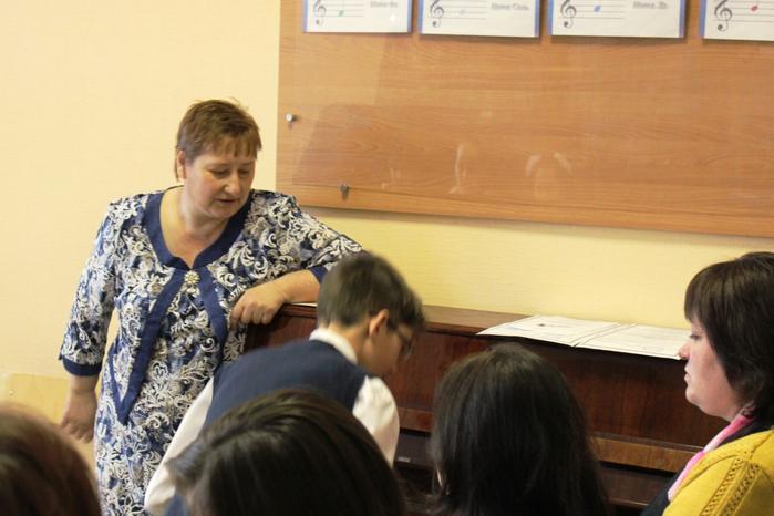 Открытый урок преподавателя Г.А. Гаврисенко: Развитие гармонического слуха на уроках сольфеджио в младших классах