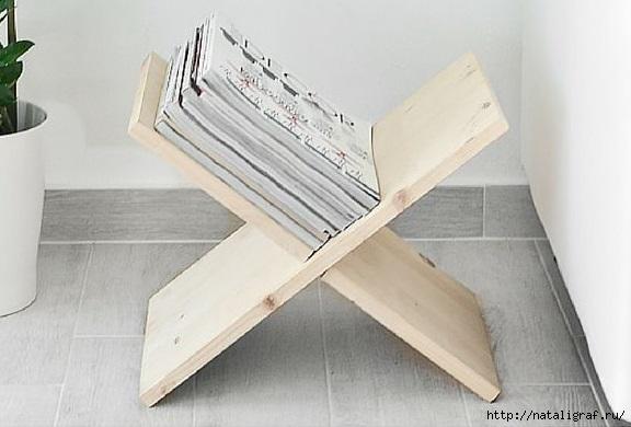 Полочка-подставка для всяких нужных предметов