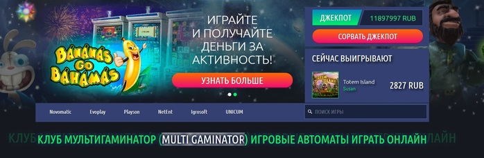 Бесплатные игровые гаминатор