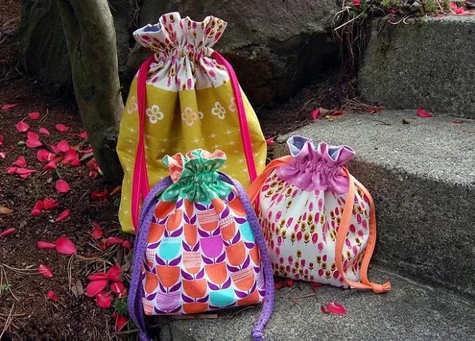 59d7c1f9de96 Летняя сумочка-мешок с внутренним карманом: как сшить.. Обсуждение ...