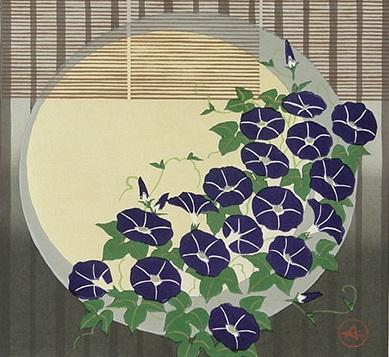 Japanese morning glory (389x357, 151Kb)