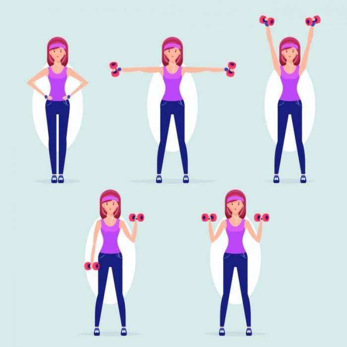 Зарядка Для Рук Для Похудения. Упражнения против дряблой, обвисшей кожи рук