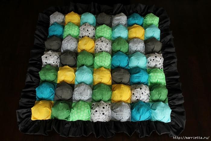 Шьем бисквитное детское одеялко с пузырьками. Фото мастер-класс (6) (700x466, 238Kb)