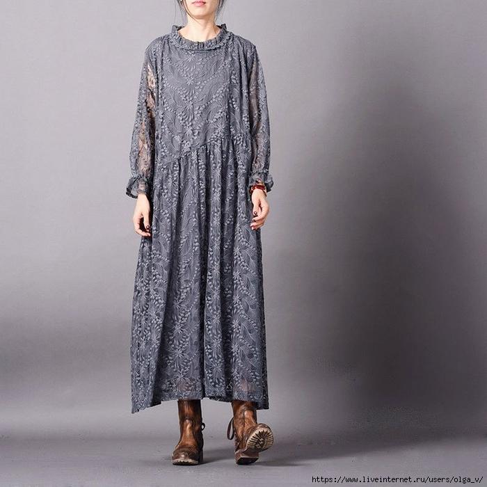 Платье Бохо Для Полных Интернет Магазин