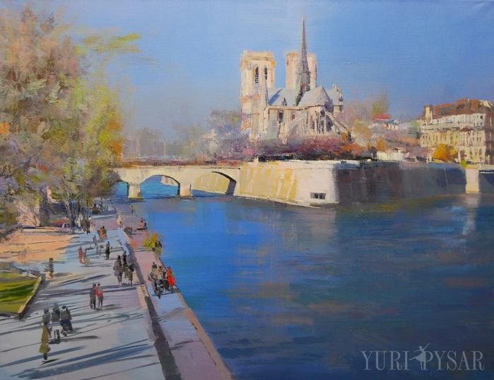 paris-painting-notre-dame-cathedral (700x537, 411Kb)