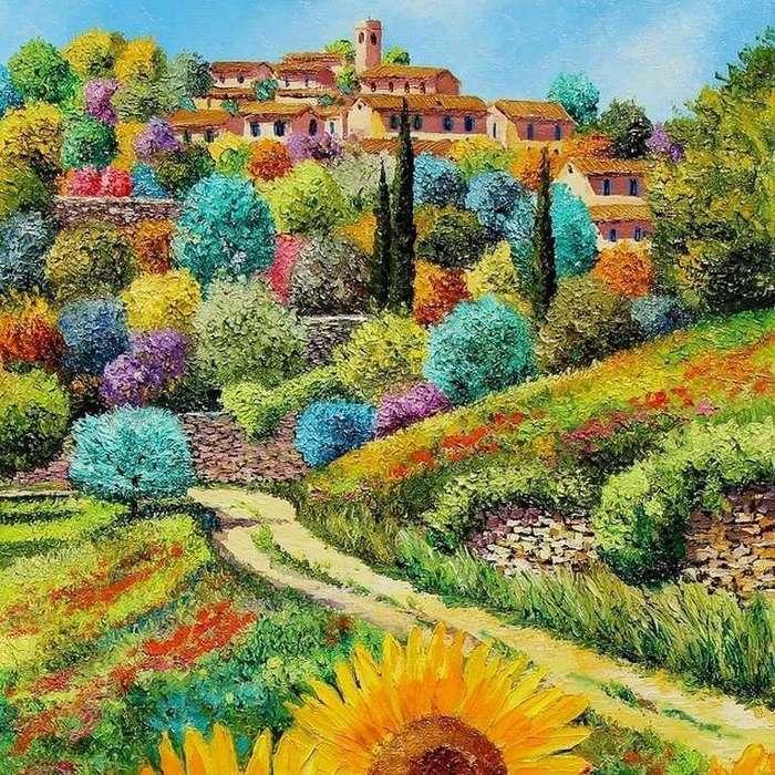 если картинки открытки французского художника жан марка вокруг меня