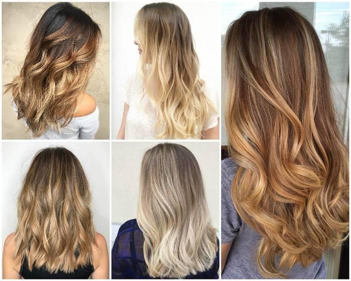 Окрашивание волос балаяж ростов
