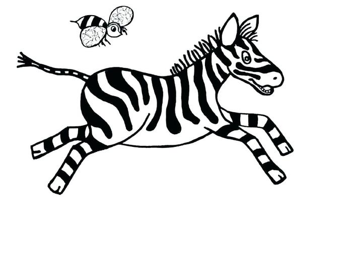 Картинки с зеброй для детей, открытки для