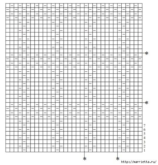 Мужской длинный кардиган спицами (4) (539x564, 201Kb)