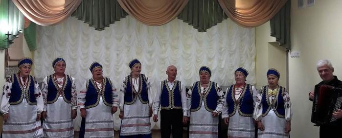 Ансамбль Козинские напевы с концертмествером А.В. Макаровым