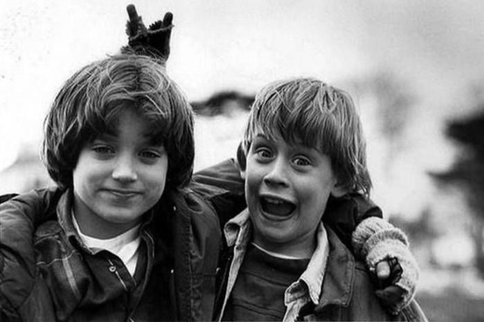 Известные актеры на фото, сделанные почти 30 лет назад