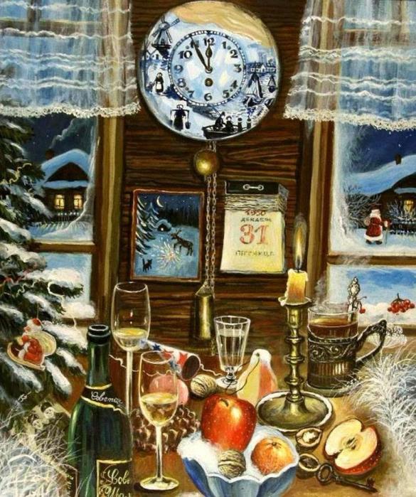 Гурьева-Сажаева Александра Тогда был Новый год (585x700, 523Kb)