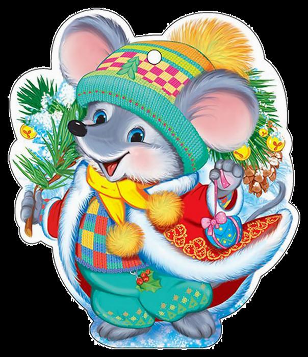 Мышка картинки на новый год