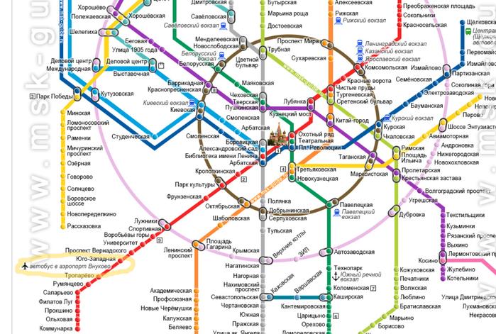 фотография карты метро москвы всех вагонах