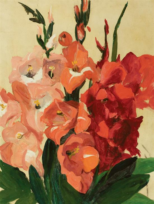 jane-peterson-gladiolas (527x700, 365Kb)