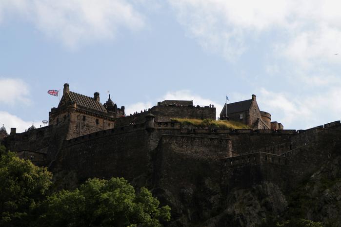 edinburgh castle, эдинбургский замок, средневековый эдинбургский замок, эдинбург, шотландия, достопримечательности эдинбурга, красоты эдинбурга,