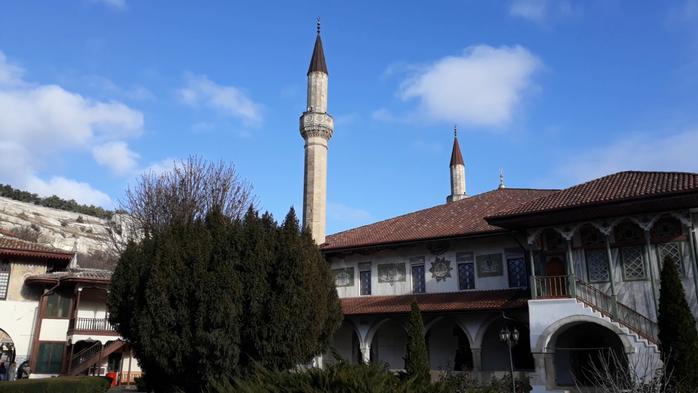 бахчисарайский дворец, ханский дворец, крым бахчисарай,ханский дворец в бахчисарае, ханский дворец ы крыму, крымско татарское ханство, хан гирей,