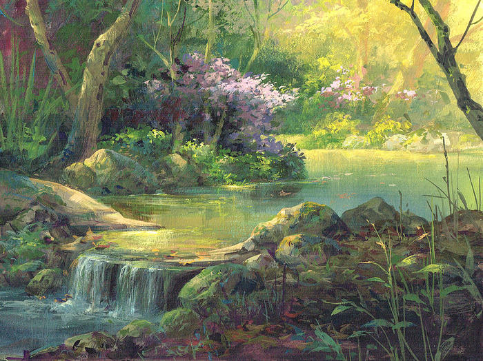 the-quiet-creek-michael-humphries (700x524, 126Kb)
