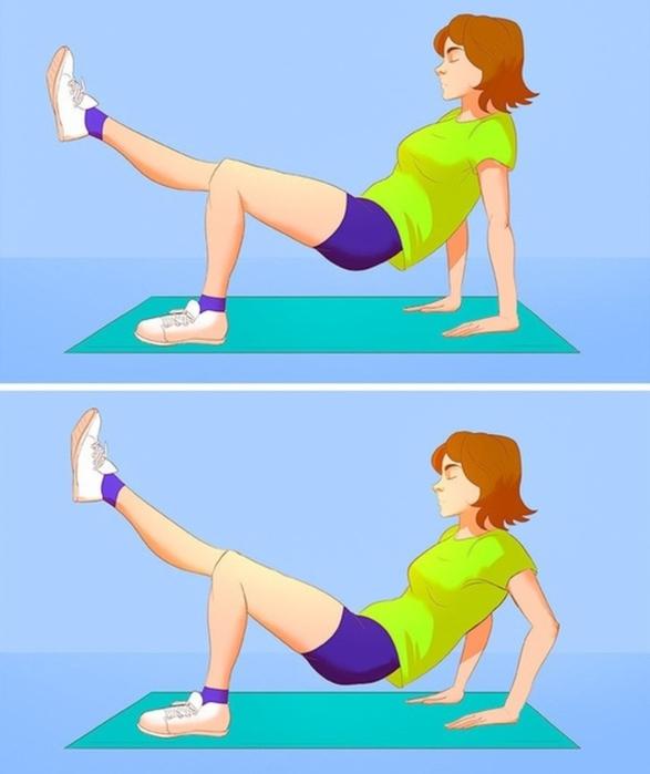 Упражнения дня быстрого похудения