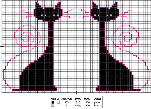 Варежки с котами 9 (579x417, 309Kb)