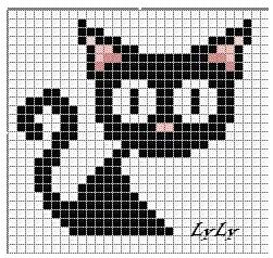 Варежки с котами 11 (251x238, 28Kb)