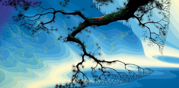Художник Eyvind Earle (699x346, 78Kb)