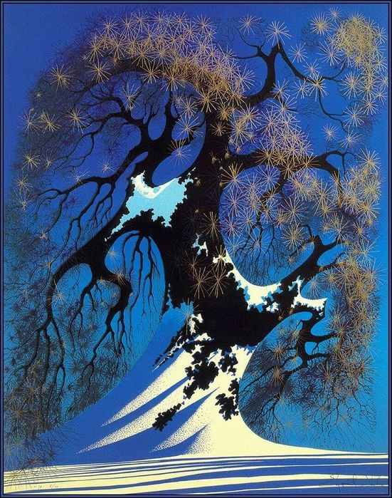 Художник Eyvind Earle2 (551x700, 131Kb)
