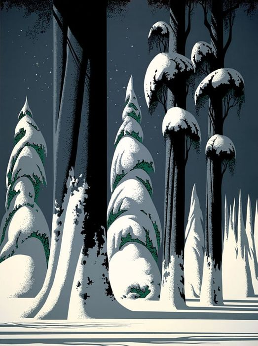 Художник Eyvind Earle6 (523x700, 72Kb)