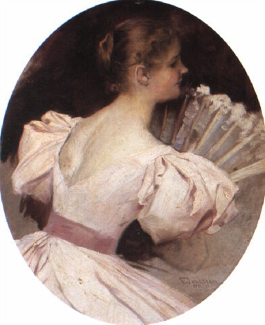 georgios-jakobides-portrait-of-a-lady-with-a-fan (383x470, 52Kb)