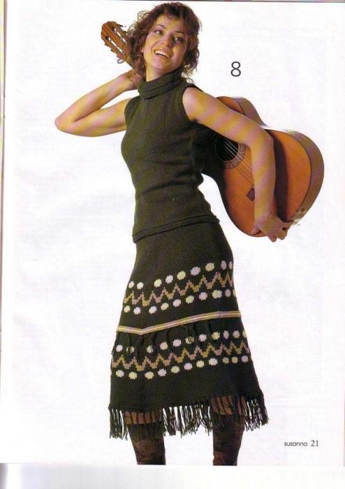 Милые рукодельницы, как вязать эту юбку, ищу схему , помогите плз.
