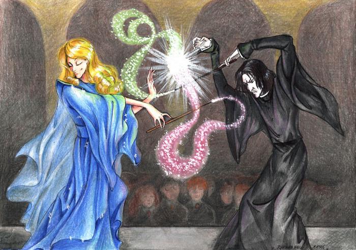 небольшой картинки фей и колдунов браке