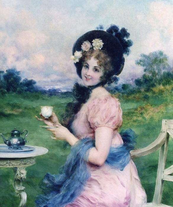 Francesco Vinea  - Afternoon tea.