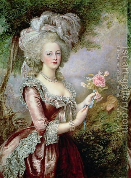 ouise Campbell Clay : Marie Antoinette (1755-93) after Vigee-Lebrun