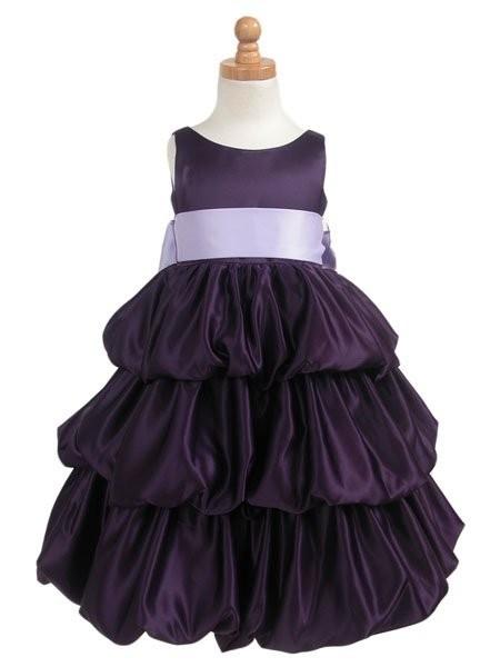 Описание: выкройка пышного платья для девочки.