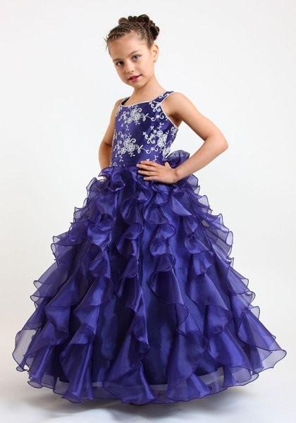 Летнее платье для девочки(шьем за 1 час, без выкройки.