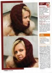 Описание: вязание спицами шапки шарфики.