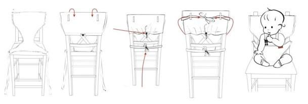 """Почти альтернатива детскому стульчику для кормления.  Очень удобно брать такой  """"стульчик """" в поездку на дачу или к..."""