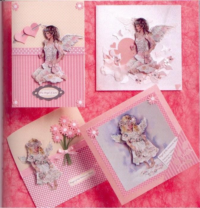 Как сделать открытку с днем ангела своими руками, открытки бумаги